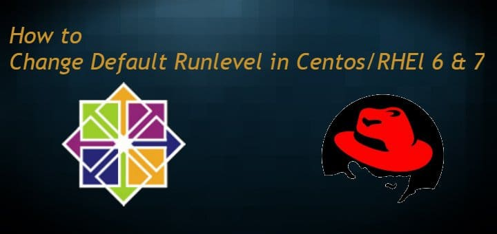 Changing Default Runlevel in Centos/RHEL 6 & 7 - LinuxTechLab