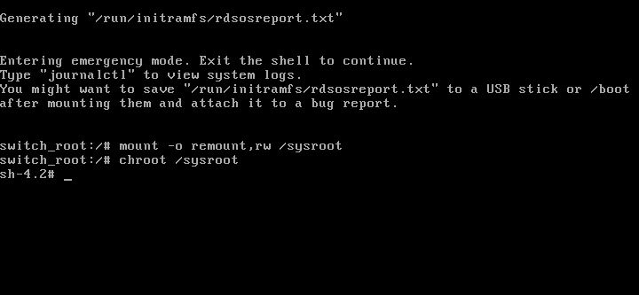 How to reset ROOT password in RHEL/CentOS - LinuxTechLab