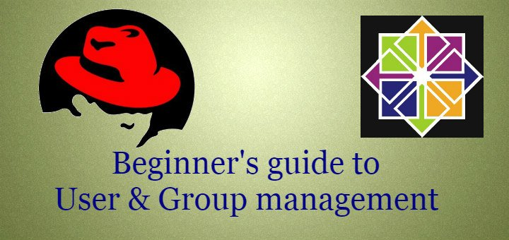 user & group management