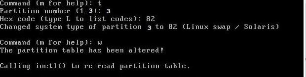 Creating SWAP partition using FDISK & FALLOCATE commands - LinuxTechLab
