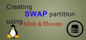 creating swap