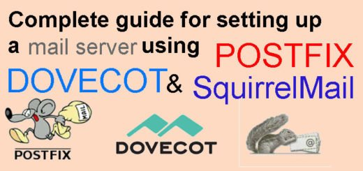 Complete guide for setting up a mail server using Postfix, Dovecot