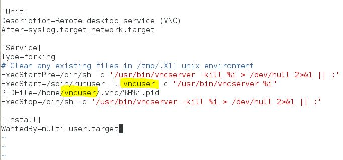 Configuring VNC Server for GUI remote access - LinuxTechLab