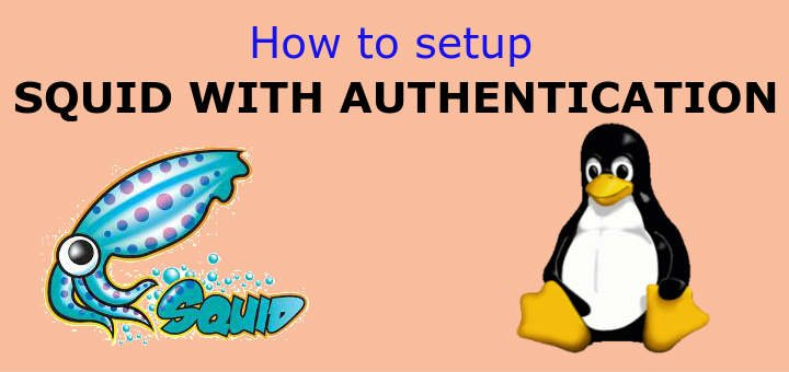 How to setup SQUID AUTHENTICATION - LinuxTechLab