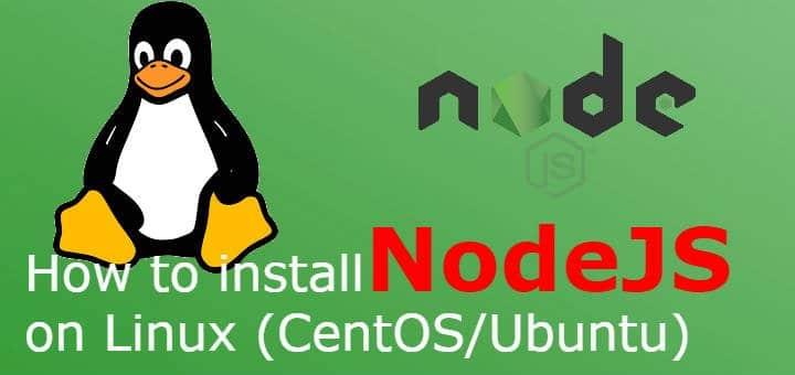 How to install NodeJS on Linux (CentOS/Ubuntu) - LinuxTechLab