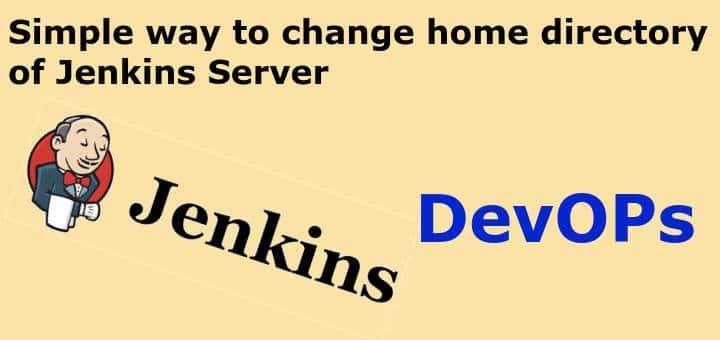 change home directory of Jenkins