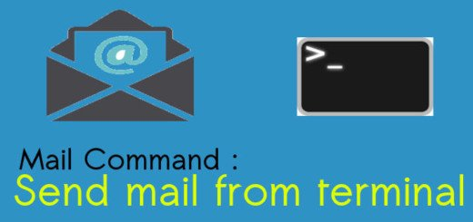 Send mail from terminal