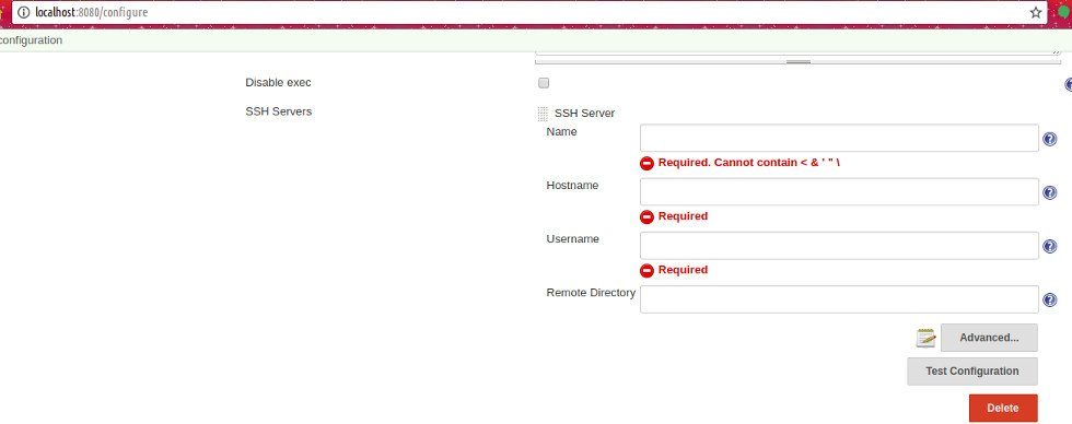 How to easily add ssh credentials on Jenkins Server