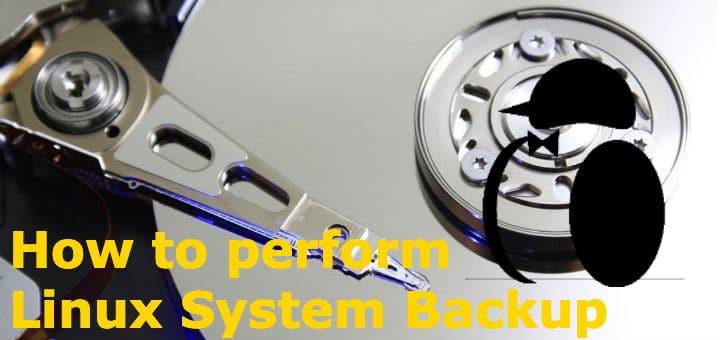Linux System Backup