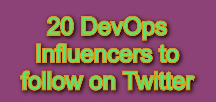 DevOps Influencers
