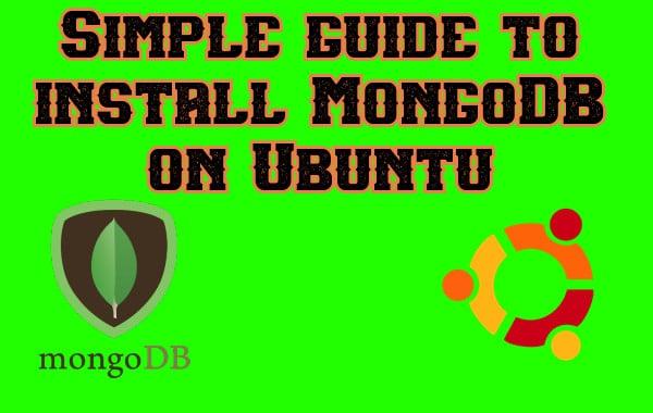 install mongodb on ubuntu